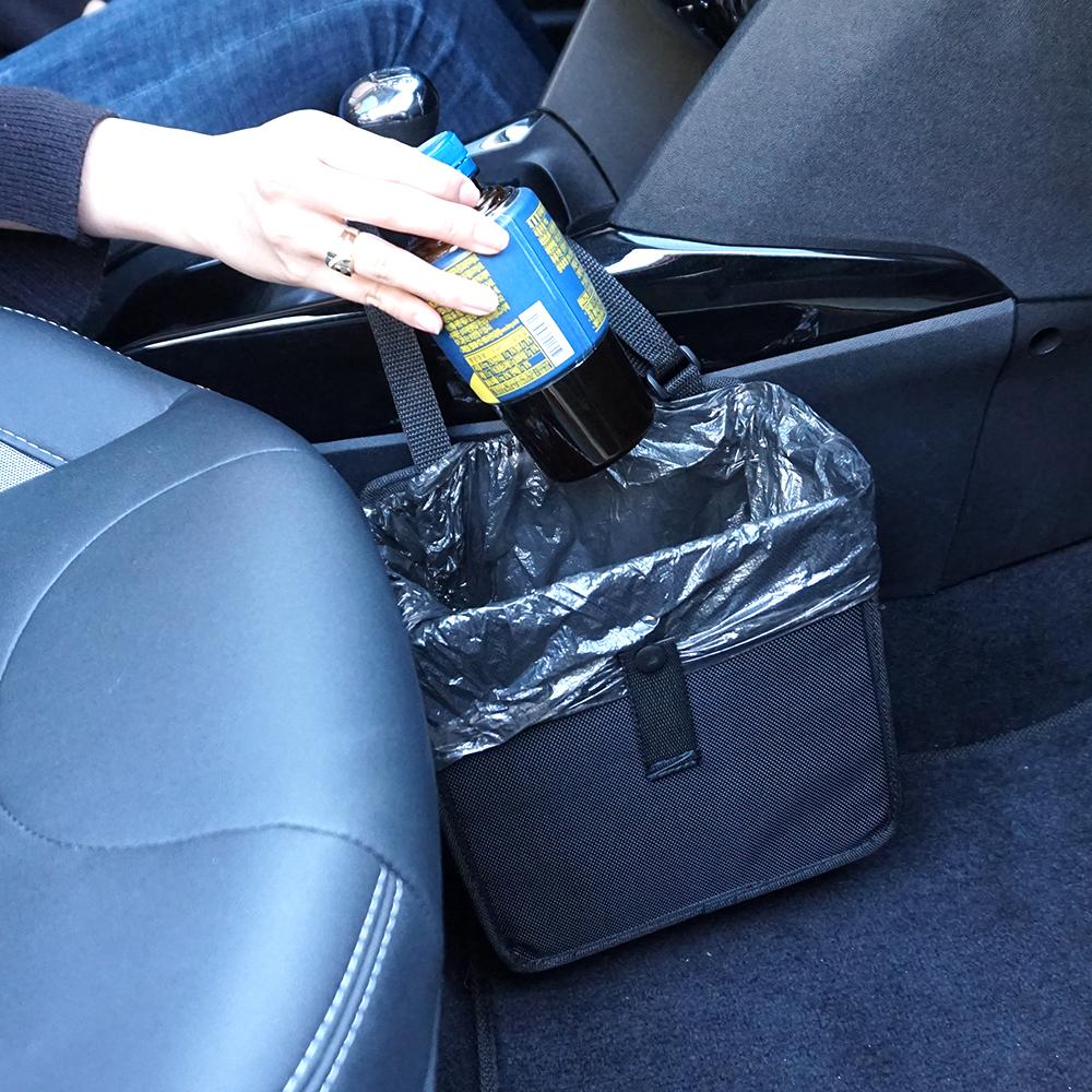 차량용 휴지통 자동차 쓰레기통 포켓 용품 봉투증정